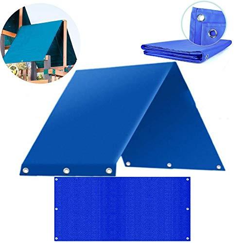 Playset Canopy Ersatz-Torp, 43 x 92 Zoll, wasserdicht, Sonnenblende Tarp, Outdoor Swingset Shade Kids Playground Roof Canopy