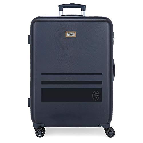 El Potro Chic Maleta Mediana Azul 48x68x26 cms Rígida ABS Cierre de combinación Lateral 70L 2,66 kgs 4