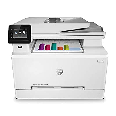 HP Color LaserJet Pro M283fdw Wireless All-in-One Laser Printer, Remote Mobile Print, Scan & Copy, Duplex Printing, Works with Alexa (7KW75A) by hp