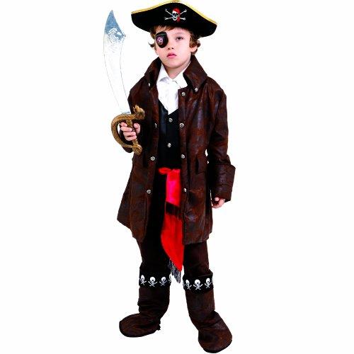 Dress Up America Costume de pirate mignon garçon des Caraïbes