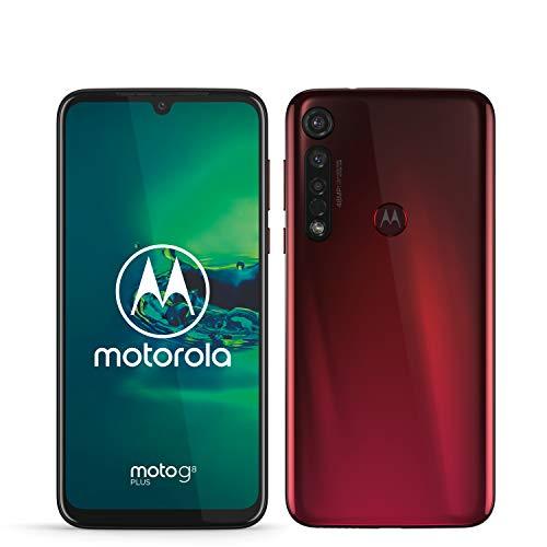 "Motorola Moto G8 plus (display FHD 6,3"", sensore fotocamera da 48 MP , altoparlanti stereo Dolby®, 64 GB/ 4GB, Android 9.0, Smartphone Dual SIM ), Crystal Pink"