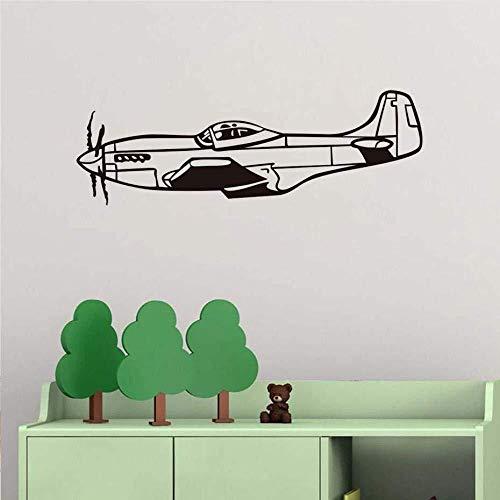 Muurstickers Muurtattoo behang vliegtuig vliegtuig vinyl sticker Air Ce Muurtattoo vliegtuigen leger wooncultuur muurafbeeldingen 59 * 20 cm