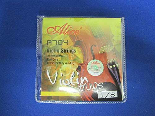 ■ バイオリン弦セット■1/8サイズ■ Alice A704