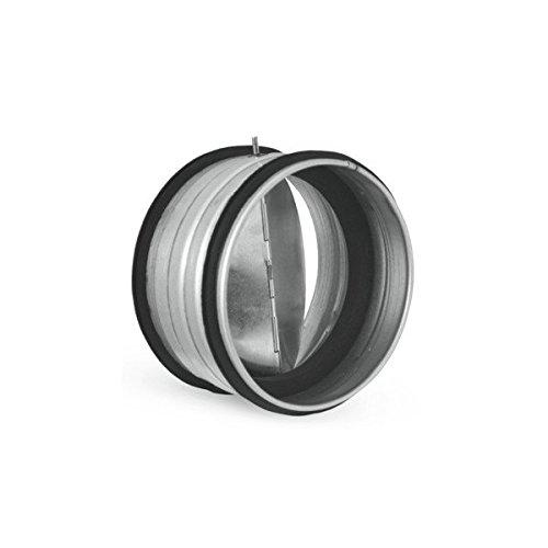 Válvula de retención con doble junta para conductos de ventilación, disponible en varios diámetros