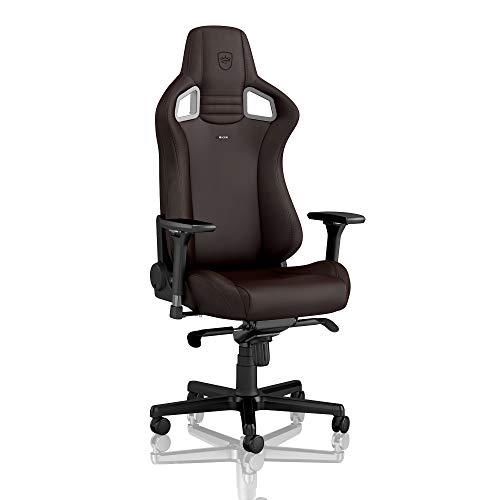 noblechairs Epic Gaming Stuhl - Bürostuhl - Schreibtischstuhl - Hybrid-Kunstleder - Inklusive Kissen - Java Edition