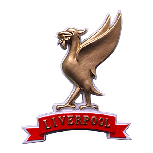 Liverpool Liver Bird Faja Imán para nevera - Oro