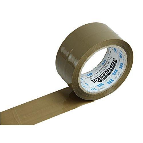 Basso rumore Buff-Nastro adesivo per imballaggio, 48 mm x 66 m