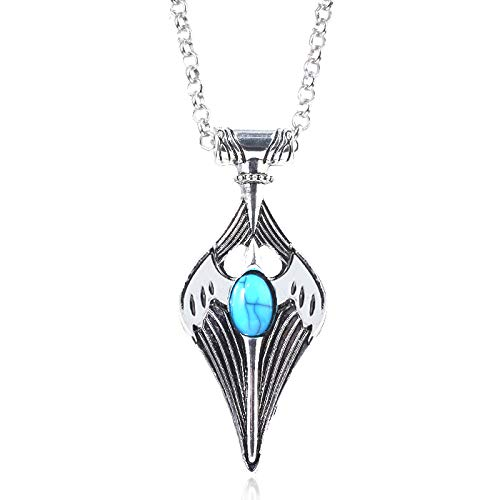 Herrenhalskette Kynareth Skyrim Elder Scroll Halskette Amulett Cosplay Kynareth Morrowind Oblivion Aus Spiel Sky Amulett