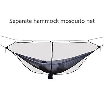JVSISM Moustiquaire d'hamac Portable Ultra-Legere pour Exterieur Moustiquaire Anti-moustiques en Nylon avec Taille Super