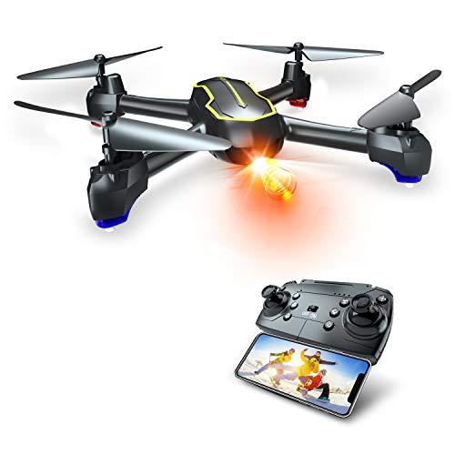 Asbww | Drone GPS con Telecamera Full HD 1080p per Bambini e Principianti - Quadricotteri RC Droni FPV con GPS Funzione di RTH / 16 Minuti di Volo / Funzione Seguimi
