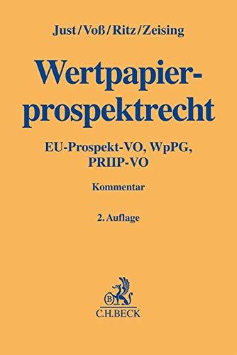 WpPG: Wertpapierprospektgesetz und EU- Prospektverordnung