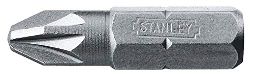 Stanley 168949B 25 embouts Pozidriv No. 2 25 mm