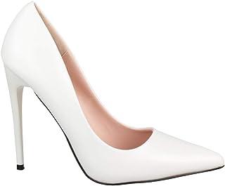 Zapato de Tacón Alto Mujer Punta Aguda Chunkyrayan