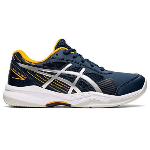 ASICS Gel-Game 8 GS, Zapatos de Tenis, French Blue Pure Silver, 39...