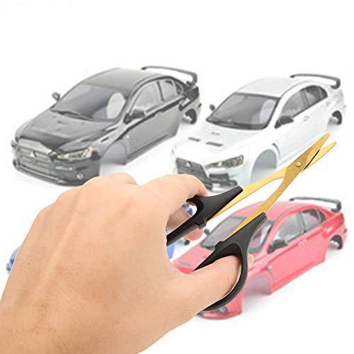 Dilwe RC Schere, RC Auto LKW Shell Gebogene Schere RC Schneiden Trimmen Zubehör Werkzeug