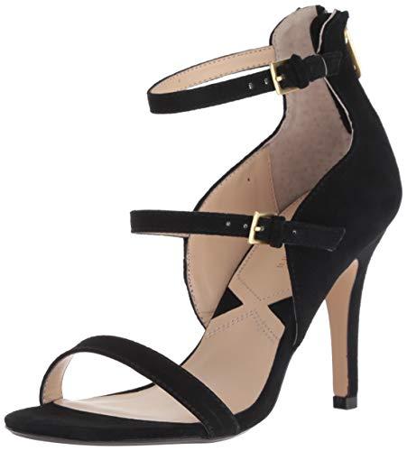 ADRIENNE VITTADINI Footwear Women's Georgino Pump, Black, 8 M US