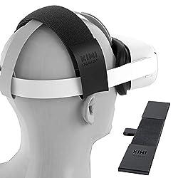 🎄Especialmente diseñado para Oculus Quest/Oculus Rift. Esta diadema puede reducir la presión de la cabeza y no te sentirás opresivo incluso después de un uso prolongado de Oculus Quest. 🎄Hecho de cuero de PU de alta calidad y cinta mágica de nylon, e...