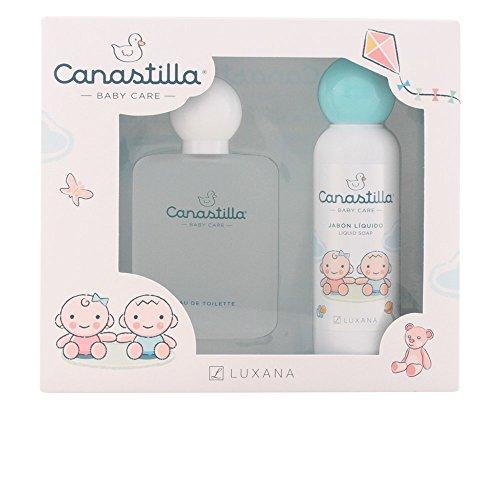 Luxana - Canastilla con Colonia + Osito Perfumado Luxana 100 ml 0m+