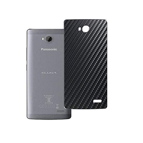 Puccy 2 Pack Back Screen Protector Film, compatible with Panasonic ELUGA Tapp Guard Cover ( Not Tempered Glass/Not Front Screen Protectors)- Black