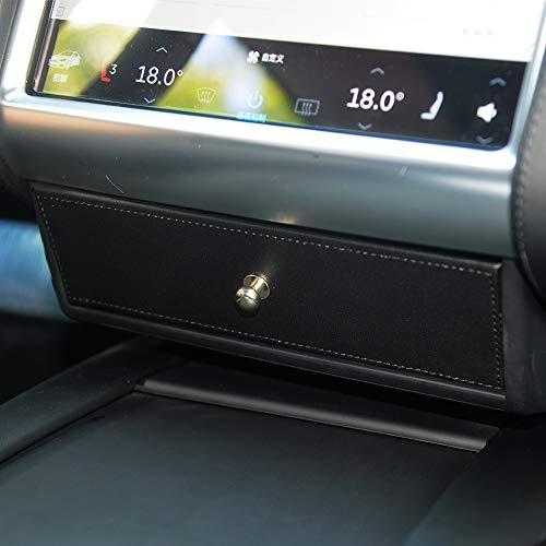 Car Organizers Aufbewahrungsbox für Tesla Model S und Model X (PU-Leder Organizer)