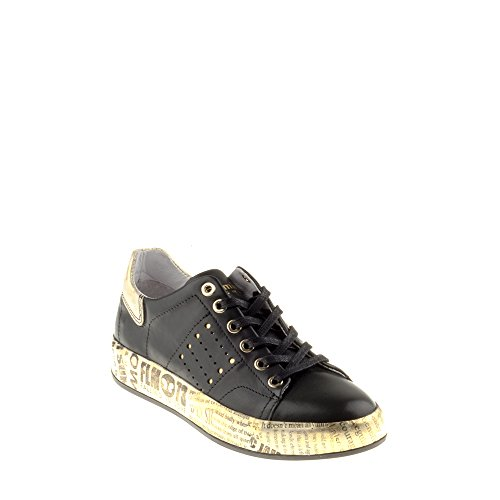 Felmini - Damen Schuhe - Verlieben Trump B153 - Sneakers - Echtes Leder - Mehrfarbig - 38 EU Size
