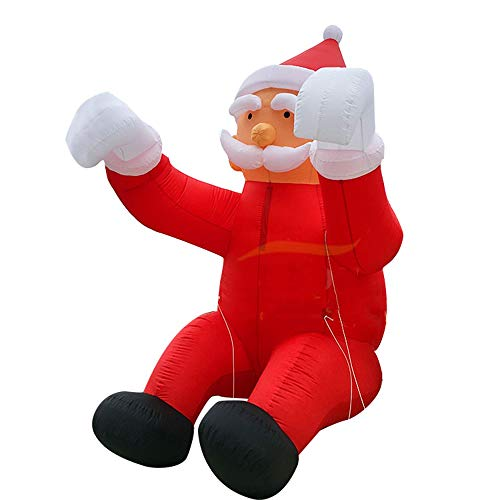 The Inflatable Santa Clause Suit Costume - Perfect for Christmas Parties & Fancy Dress - Fun, Funny & Hilarious Xmas Costume