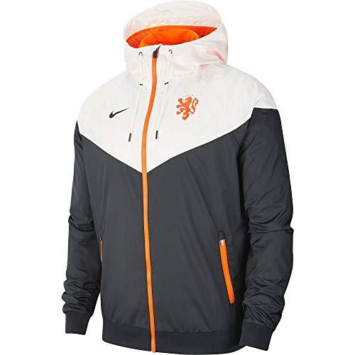Nike Holland NSW Authentic Windrunner Jacke - weiß/schwarz 2020-2021 - S