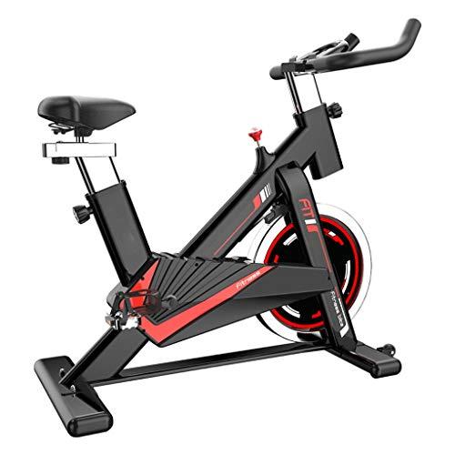 GWXSST Las Bicicletas de Fitness hogar Bicicletas Bicicletas Deportes Silent Aptitud de Peso del Equipo Equipo de pérdida de Bicicletas Indoor Bicicletas Bicicletas fijas Aerobic (Color : Black)