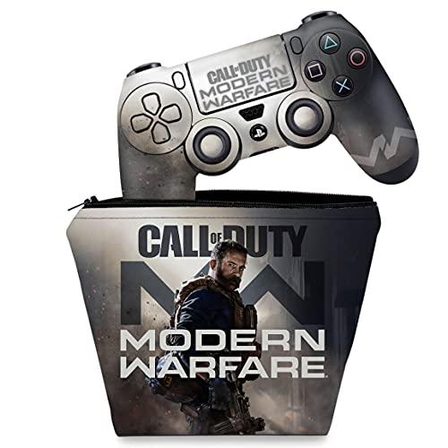 Capa Case e Skin Adesivo PS4 Controle - Call Of Duty Modern Warfare