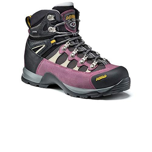 Asolo Womens STYNGER GTX ML Boots Grapeade/Gunmetal (UK5.5 / EU38.5 / US7 Gore-TEX)