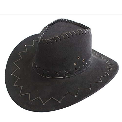 ZhuFengshop Hoed Heren Cowboy Hoed Britse Topper Zomer Outdoor Reizen Breedte Eaves Visor, Zonbescherming UV Bescherming Stijlvolle zonnehoed, buiten, reizen