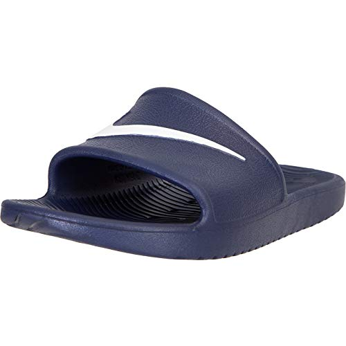 Nike Kawa Slide Chanclas, color Azul, talla 46 EU
