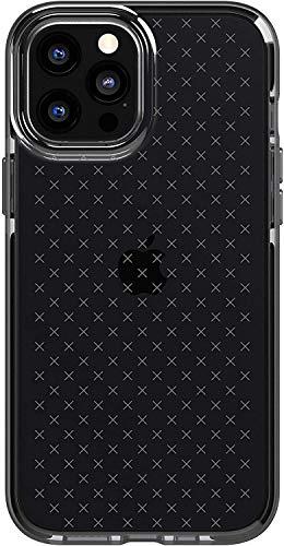 tech21 EVO Check - Carcasa antimicrobiana para Apple iPhone 12 Pro MAX 5G (protección contra gérmenes), Color Negro
