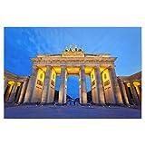 artboxONE Poster 60x40 cm Städte/Berlin Brandenburger Tor