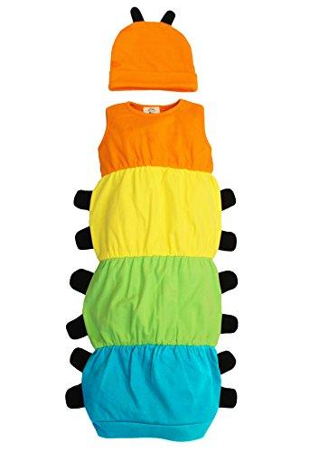 Baby Moo's Caterpillar Baby-Kostüm Set / Kostüm – witziges Jungen- oder Mädchen-Baby-Geschenk von Baby Moo's – Raupe inspiriert