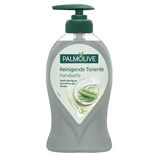 Palmolive Handseife Reinigende Tonerde, 3er Pack(3 x 250 ml)