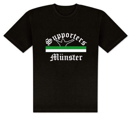 World of Football T-Shirt Supporters-Münster - XXL