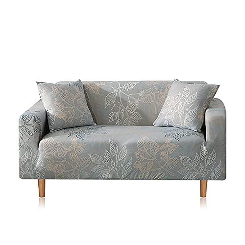 WXQY Combinación de Funda de sofá elástica, Funda de sillón en Forma de L para Sala de Estar, Juego de Funda de sofá antiincrustante Todo Incluido A21 de 3 plazas