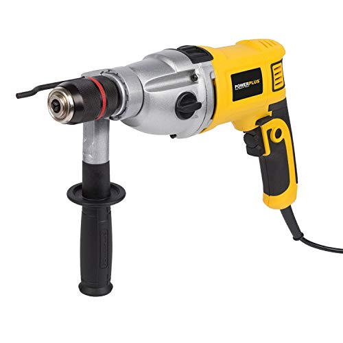 POWERPLUS POWX0280 Taladro percutor 1050w, 1050 W, 230 V, Amarillo