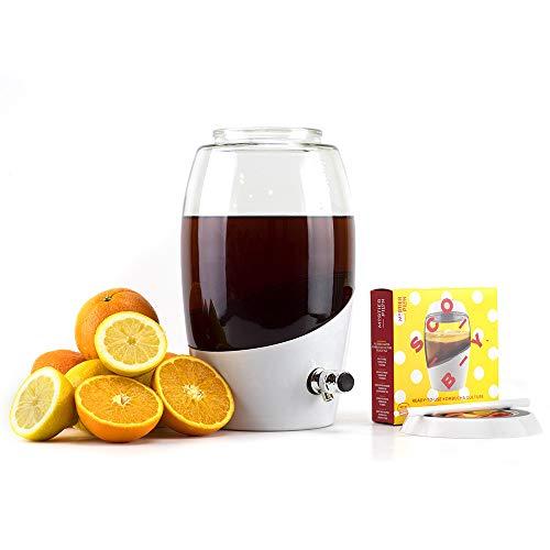 Mortier Pilon - Kombucha Starter Kit with Scoby - Kombucha Brewing Kit