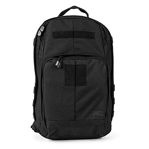 5.11 Tactical TAC Essential Backpack, 25 Liters, 1050D Nylon, Style 56643, Black