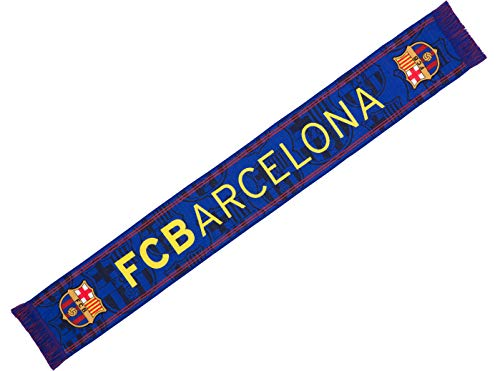 Fc Barcelone Echarpe Barca - Collection Officielle Taille 14