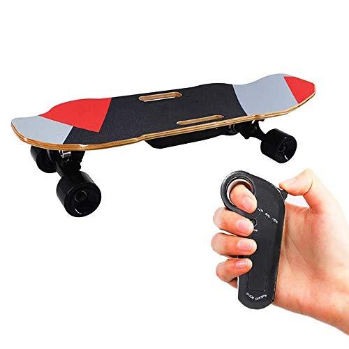 Monopatín eléctrico, mini monopatín eléctrico de arce monopatín eléctrico Ride Like Longboards....