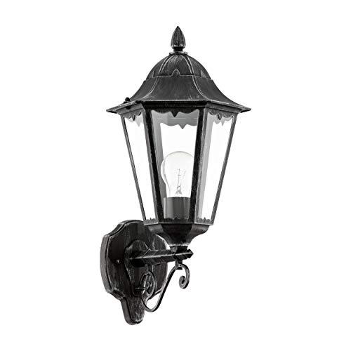 Eglo 93457 Lanterne, Aluminium, E27, Gris