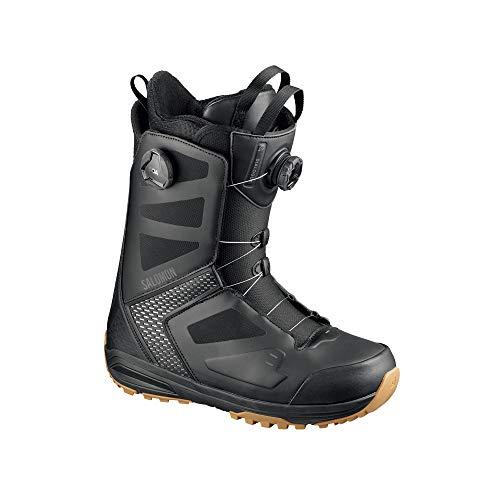 Salomon Dialogue Focus BOA Snowboard Boots Mens Sz 12 (30) Black
