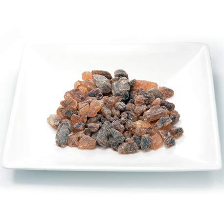 Azúcar Candi moreno en roca, especial para té. Bolsita de 100 gramos
