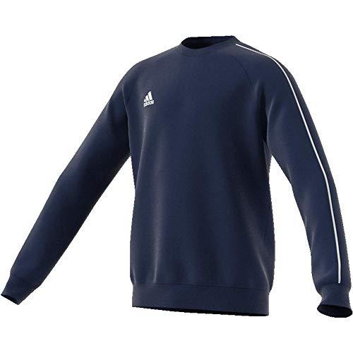adidas Jungen Core 18 Sweatshirt, Blu_bianco, 15A EU
