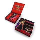 Revlon Wonder Woman 1984 - Kit de maquillaje de ojos y labios, delineador negro y pintalabios rojo, edición limitada WW84