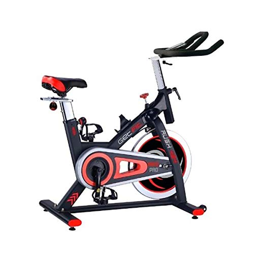 Getfit spin bike 424 race pro volano 22kg resistenza cyclette fitness home pro