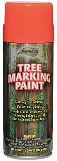 Tree Marking Paint, Fl. Orange-Red, 16 oz.